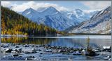 Горный Алтай, Катунский хребет, Среднемультинcкое озеро--------Приглашаю в фото-походы по горам Алтая!http://pohodnik.info