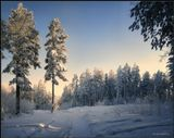Мороз -33 и Солнце :) Январь месяц в Бурятии.