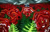 2009, граффити, зеленый, коника, красный, надпись, пленка, смена-6, цвет