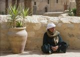 Копт.На территории монастыря Св. Антония.Египет.