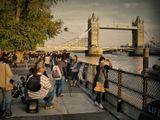 Лондон Темза тауэрский мост