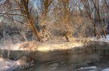 Воспоминания об уходящей зиме: первый лёд, первый иней, первые сугробчики