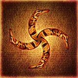 """Сваор - свастичный вариант оберега под названием """"змеевик"""""""