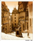 Ротенбург (Германия) - самый романтичный город на Романтической дороге. Квартал Плонлайн - известен с 1204 г.