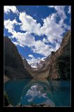 Озеро в Фанских горах, Таджикистан.