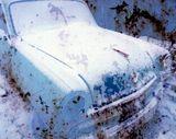 """Автомобиль """"Москвич-407"""", слайд 6х7, скан, обработка."""