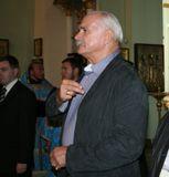 Михалков в Знаменском соборе