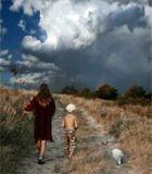 """""""...мальчик превыше всего почитал заклинателя дождя. Но ведь то былиженщины, перед ними можно было преклоняться, трепетать, но нельзя было дажемысленно, даже втайне лелеять желание им уподобиться..""""(Гессе.Игра в бисер.)_____в продолжение сказки:)"""