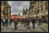 Прага, Староместская площадь, апрель 2010.