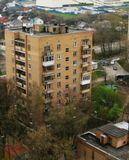 красногорск, дома, город, с высоты