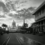 Столица Брунея.  Мечеть Султана Омара.