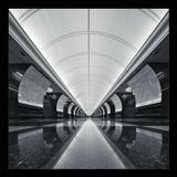 метро Парк победы, 2 горизонтальных кадра