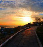 Нижний Новгород  ранним утром