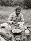 На самом деле его имя Арно. Он финн по национальности. За еду и выпивку помогал людям на сенокосе . Начало 90-х. Зенит-19