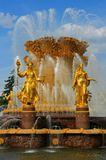 (Фонтан на ВДНХ, фонтаны дают живительную прохладу в жару, у них любят собираться молодежь и влюбленные...)