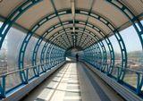 Переход, железная дорога