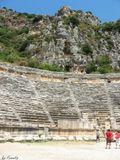 Амфитеатр, Турция, лето, отдых, развалины, старина, древность, путешествия,