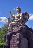 памятник, надгробие, Мравинский, жена, супруга, Новодевичий