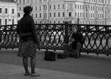 Москва, мост у Болотного сквера