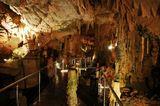 Это фрагмент морских пещер в Греции