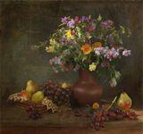 веты , виноград , груши
