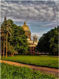 Санкт Петербург, июнь, вечер