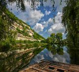 вода, горы, Крым, лето, Мангуп, небо