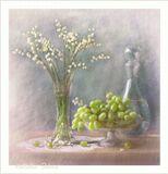 цветы , ландыши , виноград