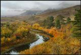 Осенние туманы. Уже не за горами... Бурятия.