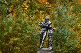 Скульптура на Гранитовой террасе в Екатерининском парке Царского Села (г.Пушкин) | сентябрь, 2010