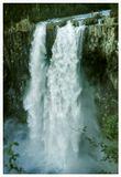 Жестокая ностальгия. Добрался до слайдов более чем 20-летней давности, и понял, что они погибли безвозвратно. Есть в Сибири такое плато Путорана. Реки текущие по нему обрываются вниз каскадами водопадов. Пол царства за повтор с нормальной камерой.