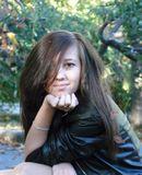 девушка осень портрет