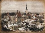 Таллин зима винтаж