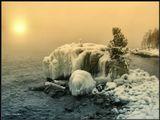 Декабрь месяц на Байкале.