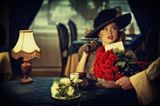 Букет роз от таинственного поклонника...