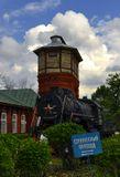 паровоз, паровозная прогулка, депо Подмосковная, ЖД, железная дорога, отстойный парк