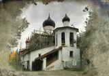 Старые церкви Пскова