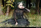 девушка готика осень gothic goth