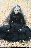девушка готика gothicМодель: Mira NoxФотограф: Darya Stern