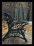 город,парк,осень,листопад,природа,скамья