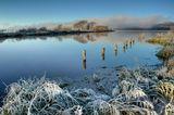 Утро. Туман. 7 ноября 2010. Швеция.