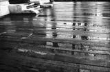 летняя эстрада под осенним дождём.Москваулица Большая Татарскаяконец октября