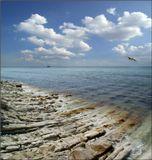 У нас и свои берега прекрасны. :)Краснодарский край. Недалеко от Джанхота.