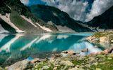 Одно из озер в Имеретинской долине