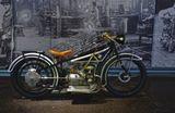 Германия, Мюнхен, музей, мотоцикл, БМВ, BMW, ретро