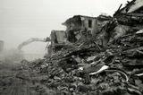 разрушение, снос дома, Калининград