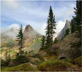 западные саяны, природный парк ергаки, гора парабола