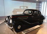 Германия, Бавария, Мюнхен, музей БМВ, BMW 1938, BMW 327, ретро, авто, третий рейх