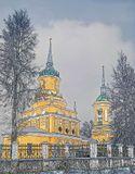 Московская область, Коломенский район, село Черкизово.Никольская церковь. 1759-1763, 1780 годы.
