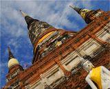 Айюттайя - древняя столица Сиама (ныне Таиланд).